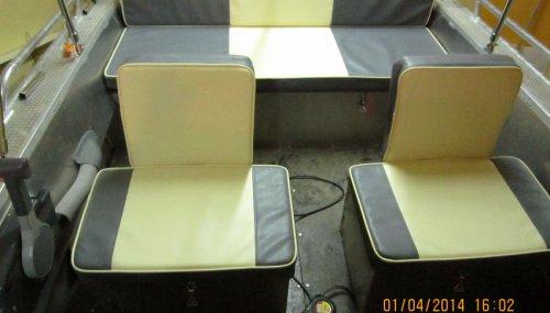 Сидения на катер Windboat-46 DC_2