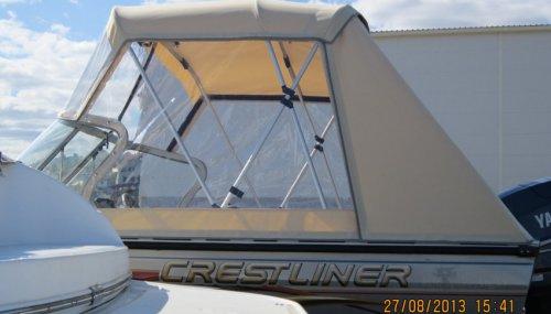 Ходовой тент на катер CRESTLINER-1650