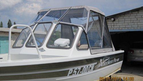 Ходовой тент для катера NORTH SILVER PRO 490