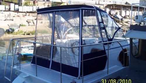 Ходовой тент на катер PEDRO SKIRON