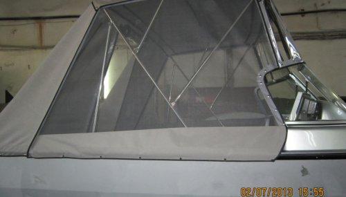 Ходовой тент на катер TRACKER TARGA V-17 WT