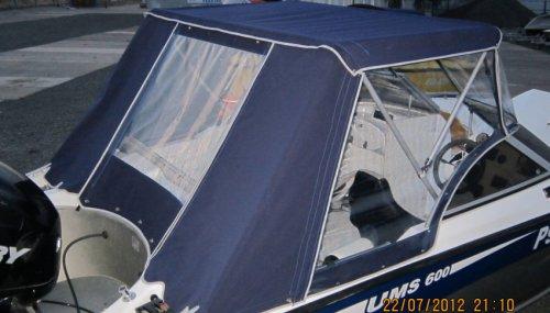 Ходовой тент на катер UMS-600